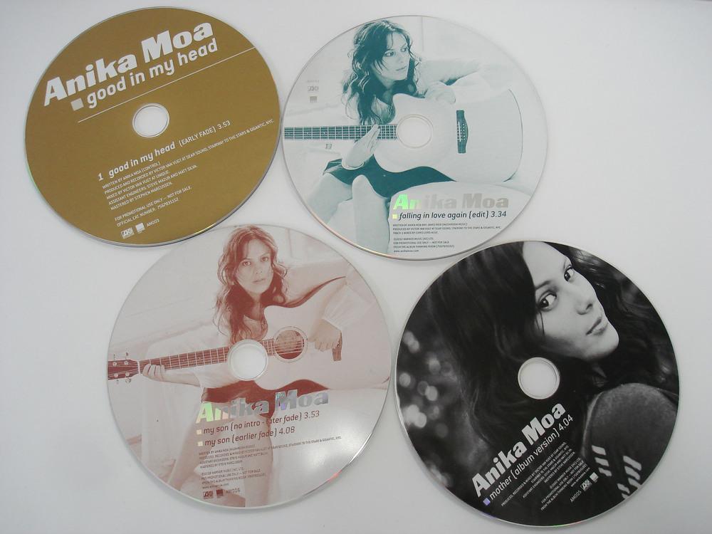 ANIKA MOA - PROMO CDs