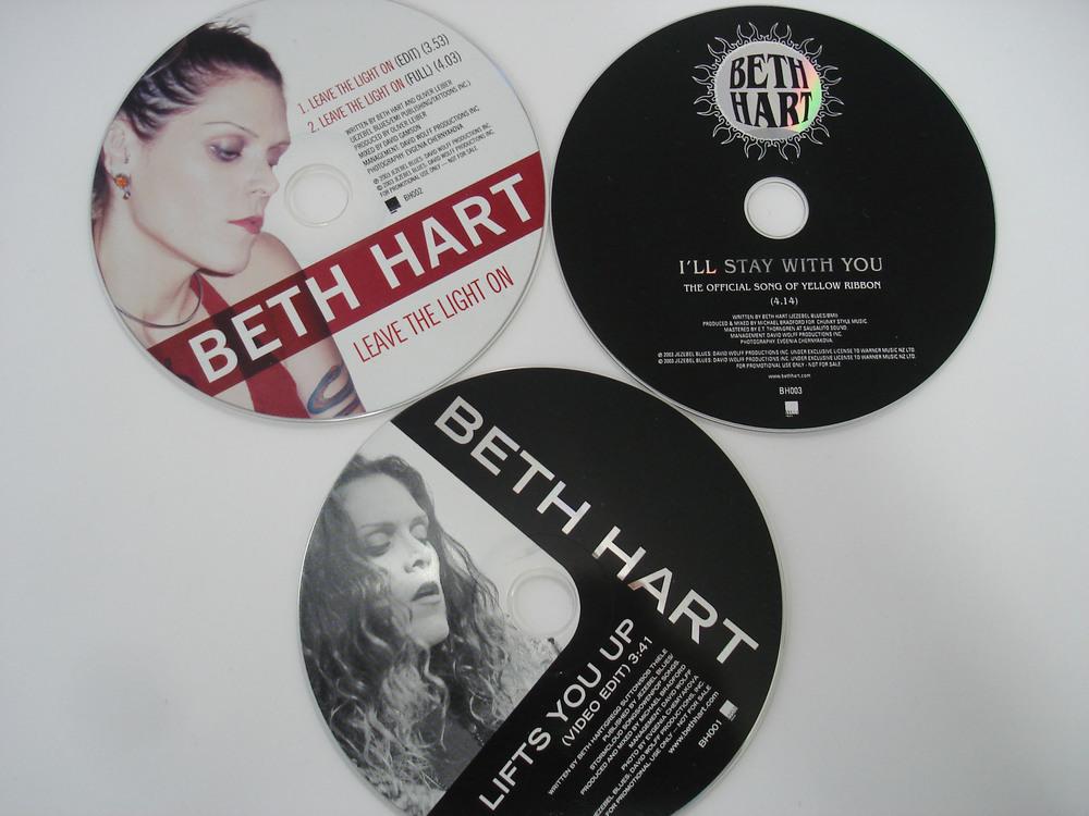 BETH HART - PROMO CDs