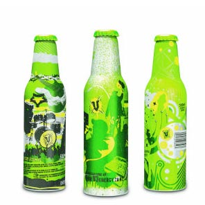 V ENERGY DRINK - MUSIC SERIES - BOTTLE GRAPHICS