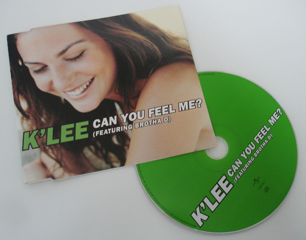 K'LEE - CAN YOU FEEL ME? - SINGLE