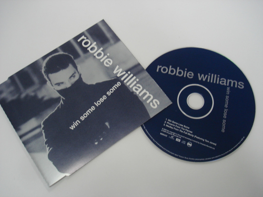 ROBBIE WILLIAMS - WIN SOME, LOOSE SOME - SINGLE