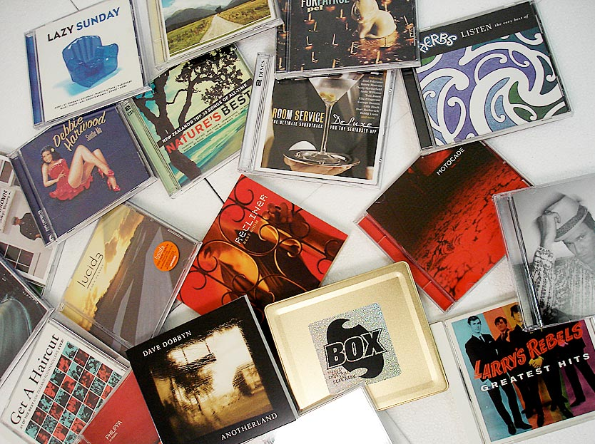 A Selection of CDs