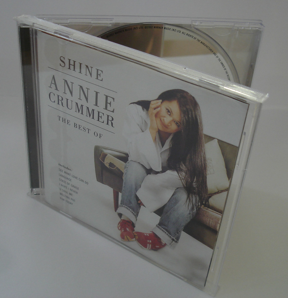 ANNIE CRUMMER - SHINE - THE BEST OF - ALBUM