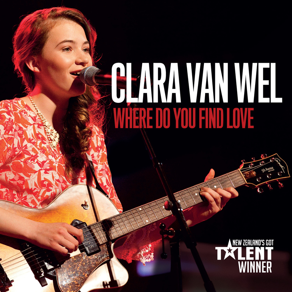 "Clara Van Wel ""Where Do You Find Love"" (EP)"