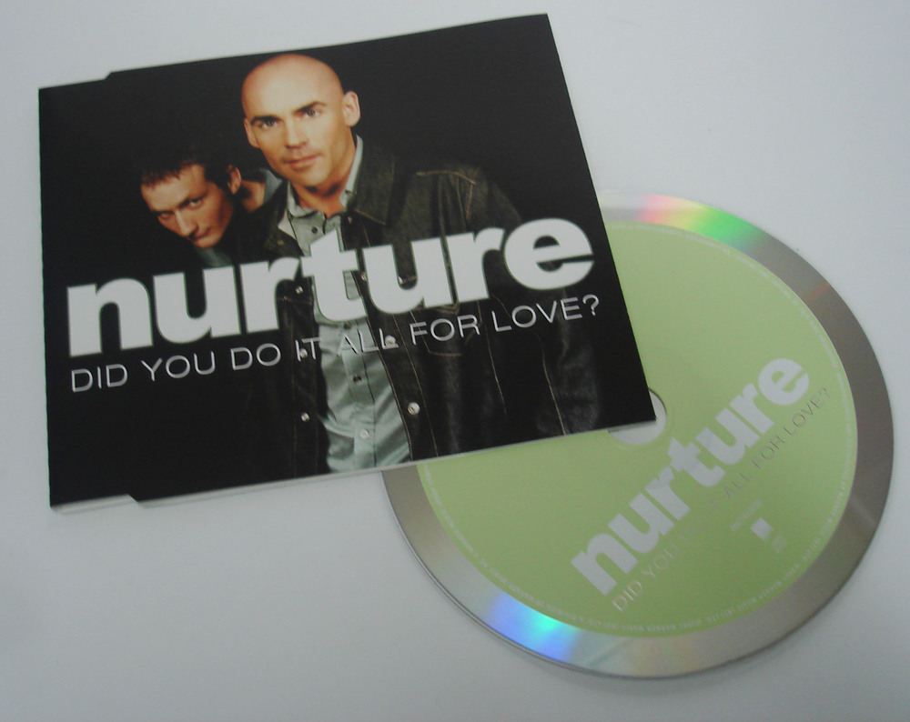 NURTURE - DID YOU DO IT ALL FOR LOVE - SINGLE
