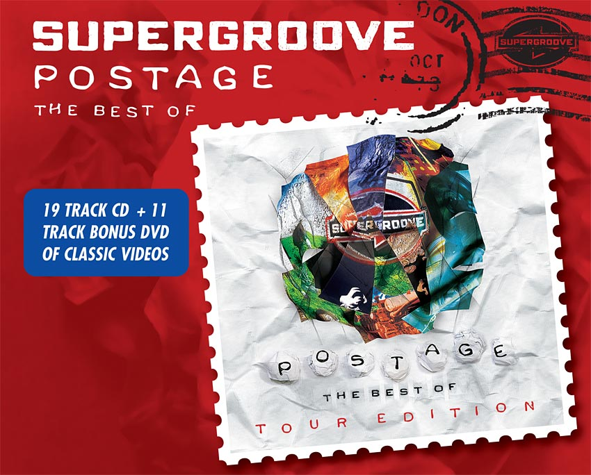 SUPERGROOVE - POSTAGE TOUR EDITION - ALBUM