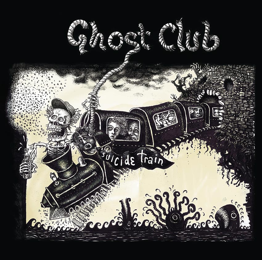 GHOST CLUB - SUICIDE TRAIN - ALBUM