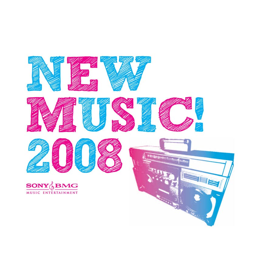 VARIOUS ARTISTS - SONY BMG NEW MUSIC 2008 - PROMO