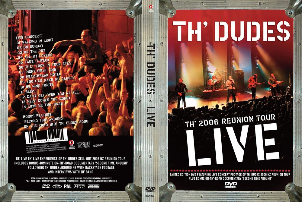 TH' DUDES LIVE - CONCERT FILM - DVD