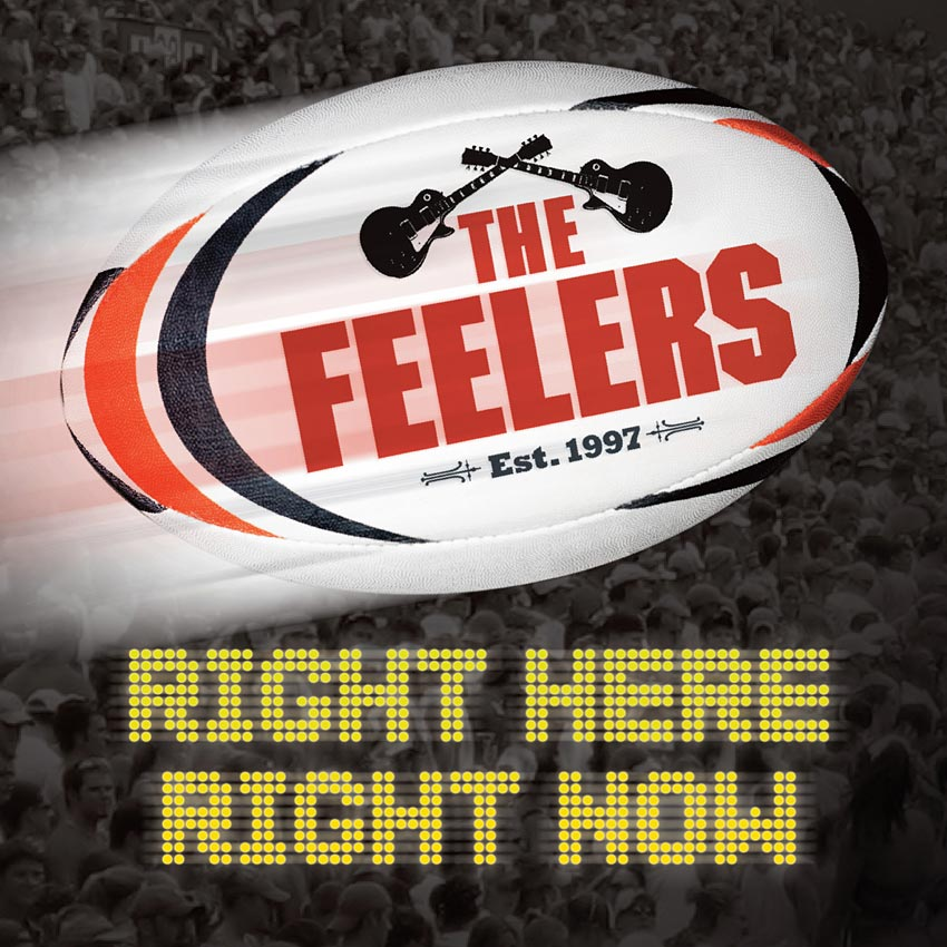 THE FEELERS - RIGHT HERE RIGHT NOW - EP