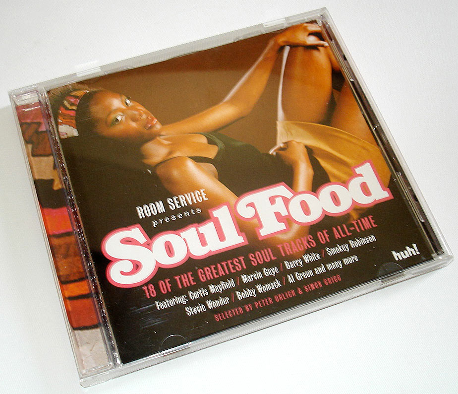 VARIOUS ARTISTS - SOUL FOOD - COMPILATION