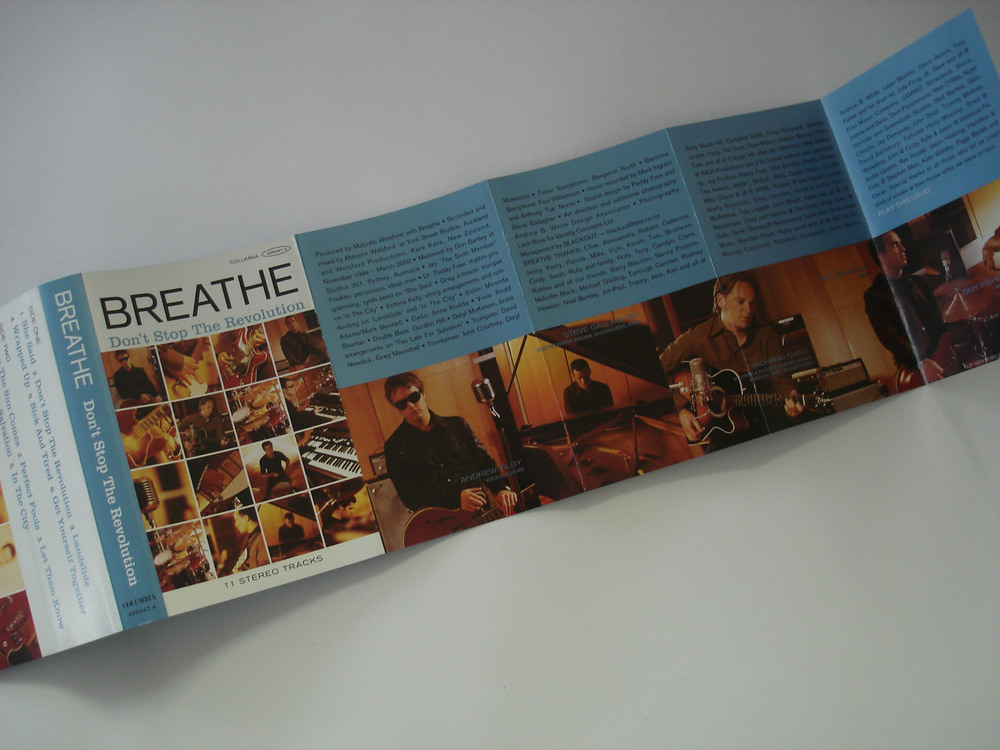 BREATHE - DON'T STOP THE REVOLUTION - ALBUM