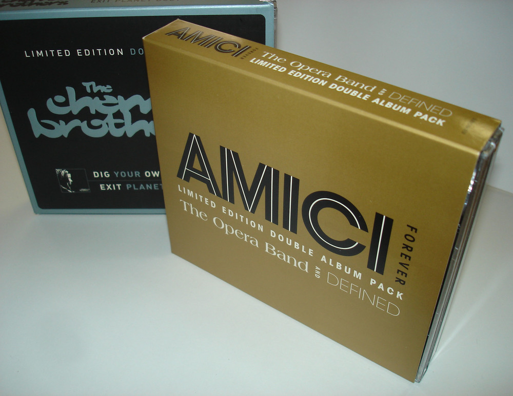 AMICI FOREVER - 2XCD SLIPCASE