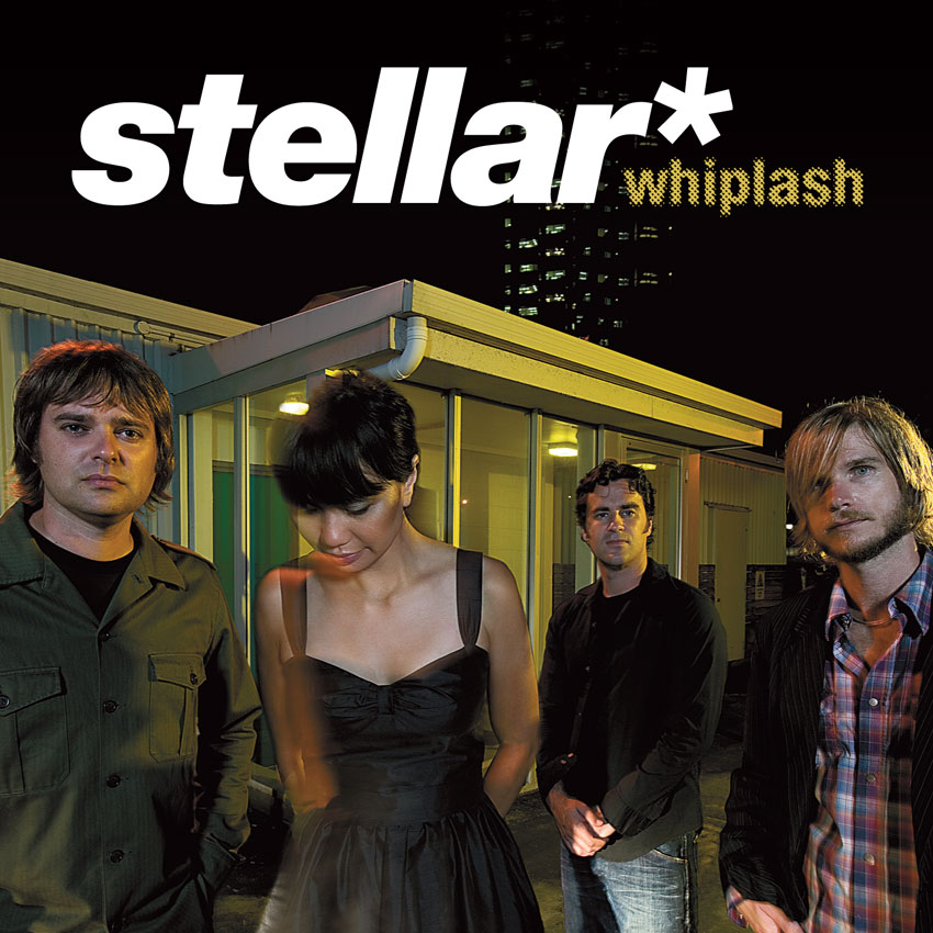 STELLAR* 'WHIPLASH' - CD PROMO