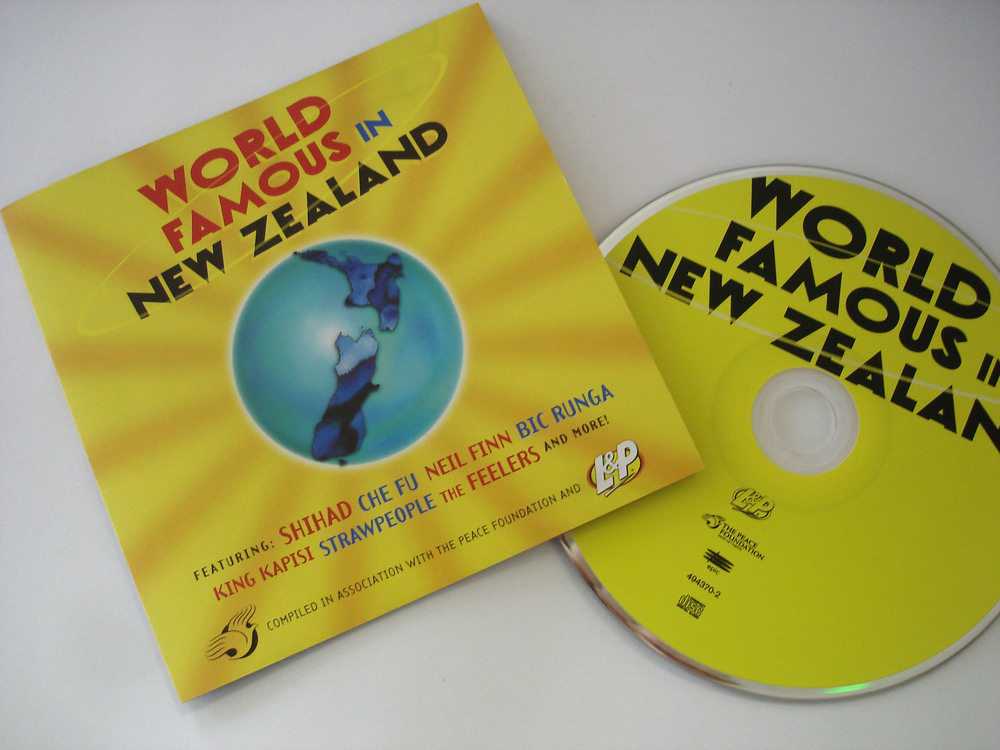 VARIOUS ARTISTS - WORLD FAMOUS IN NEW ZEALAND - COMPILATION