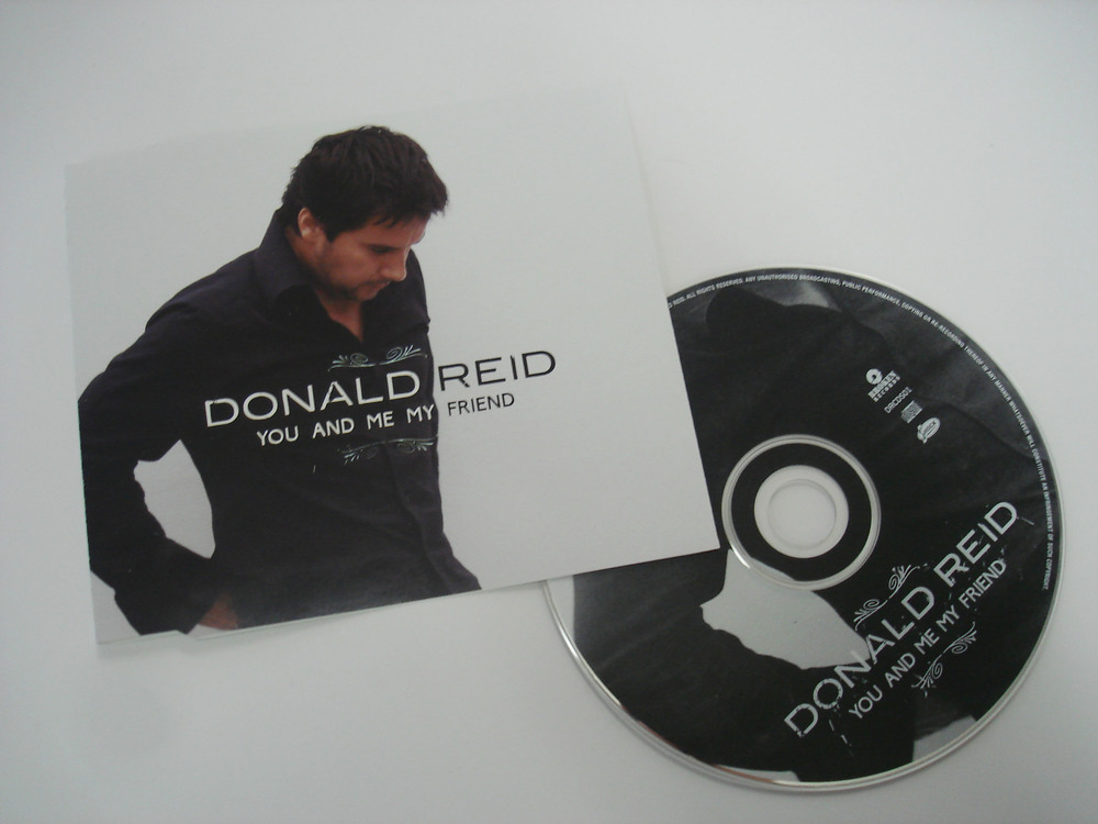 DONALD REID - YOU AND ME MY FRIEND - SINGLE