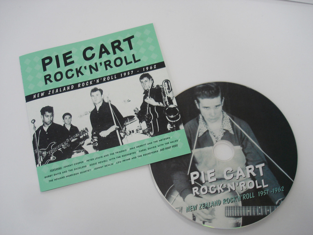 VARIOUS ARTISTS - PIE CART ROCK'N'ROLL: NZ ROCK'N'ROLL 1957-62 - COMPILATION