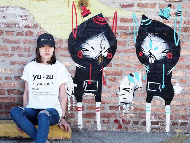 What's better than getting to enjoy #firstdayofsummer with #yuzuchicago sushi 🍣. To buy yuzu definition t-shirt, visit https://www.yuzuchicago.com/shop Styling by Nathy @nathyprch Photo by our graphic designer Nathy @nathyprch Model by Uracha @u_ra_cha  Designed by @nathyprch + Trisha Bun . . . . #buzzfeast #foodgasm #huffposttaste #feedfeed  #312food #foodstagram #eeeeeats #feastagram #thedailybite #eatstagram  #buzzfeedfood  #chicagoeats #chicagofoodie  #feedyoursoull #tastespotting #satisfeed #forkfeed #tryitordiet #spoonfeed #foodfeast #nobsfood #infatuation_chi #spotmyfood  #gastroart #freshlymade #foods4thought #foodstyling #ihavethisthingwithwalls