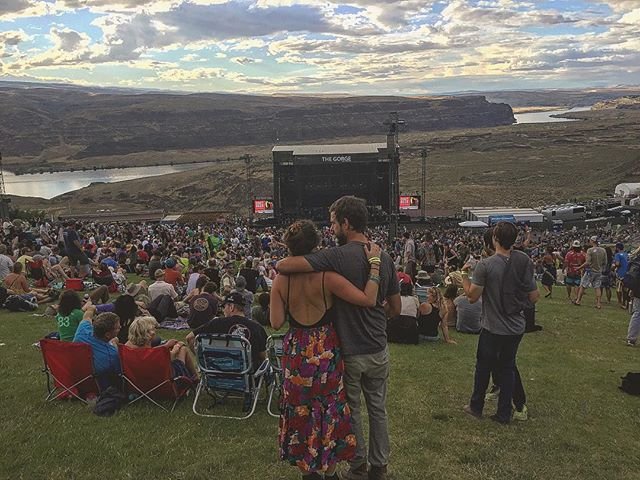 2 years ago @phish. One of the most beautiful places on earth to see a concert with the most beautiful person I've ever met. Hope everyone lucky enough to be there this weekend has a blast.