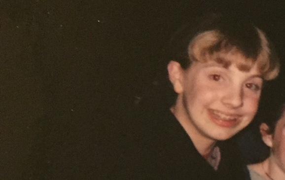 Me, seventh grade.
