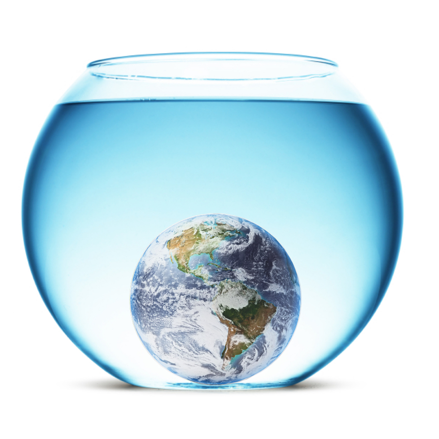 Density - Earth has a density of 5.5 grams / cubic centimeter. That means it's more dense than any of the other planets.
