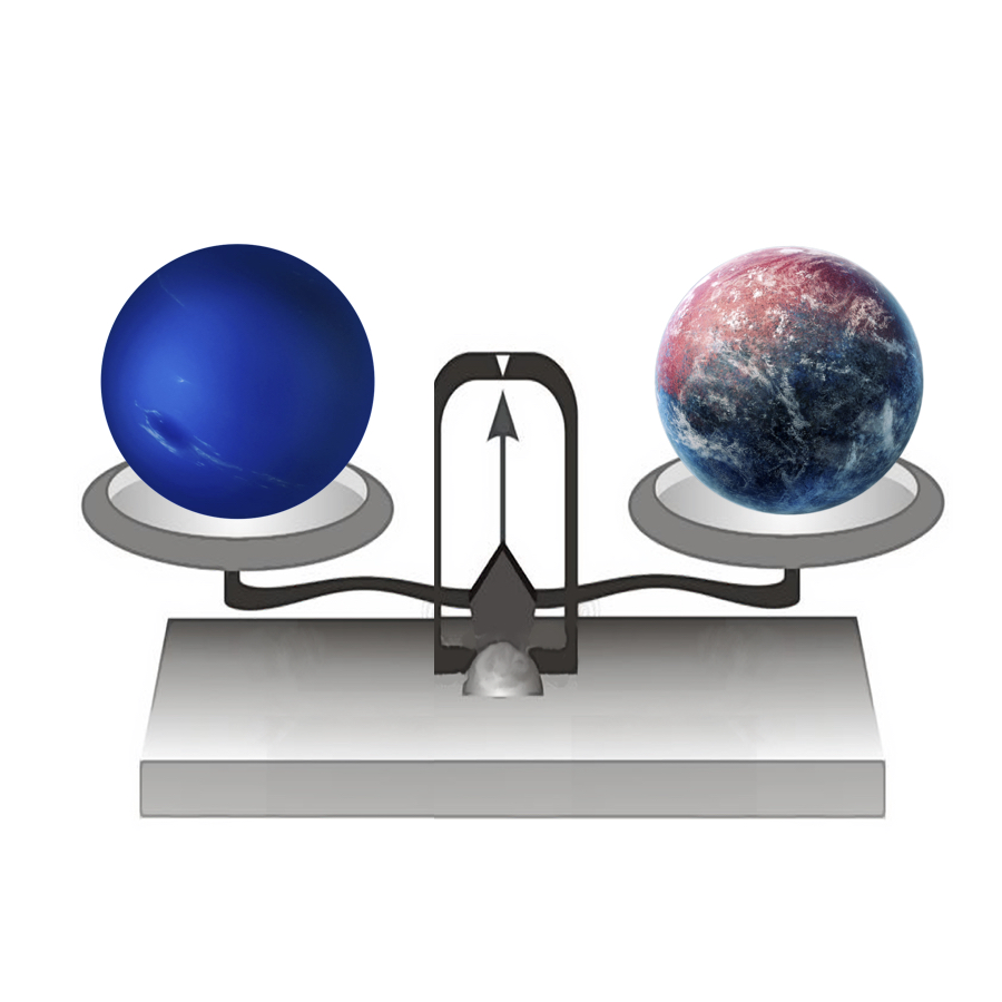 Mass - If we put Neptune on a balance, it would have a mass of 102,410,000,000,000,000,000,000,000 kilograms.