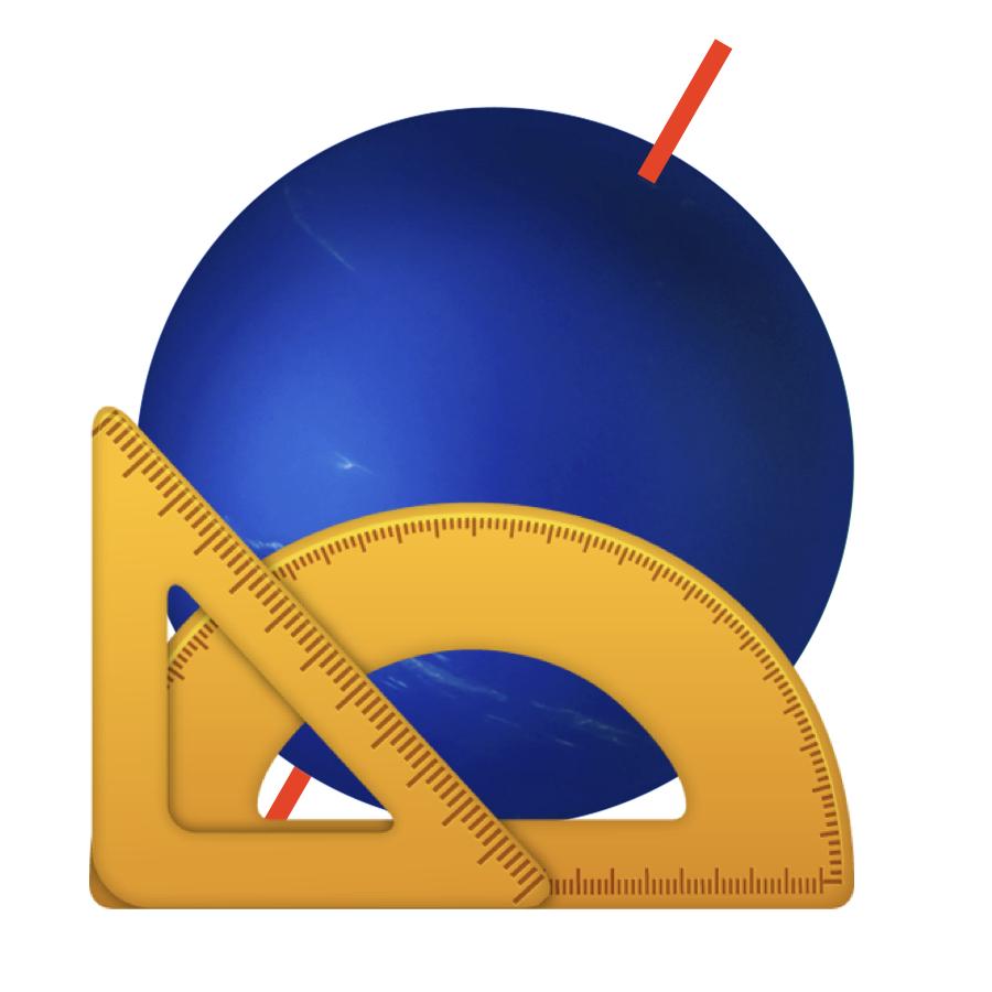Tilt - Neptune has a tilt of 28.3 degrees, which is similar to Earth's.