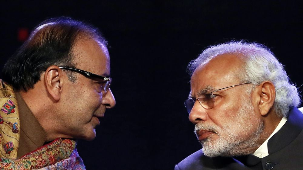Seeing eye to eye: finance minister Arun Jaitley (left) and premier Narendra Modi