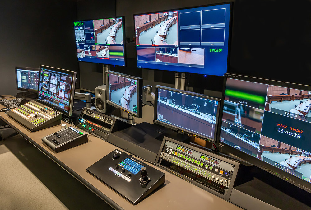 CS-2 Control Surface consoles are installed in several studios throughout the Canadian House of Commons in Ottawa.