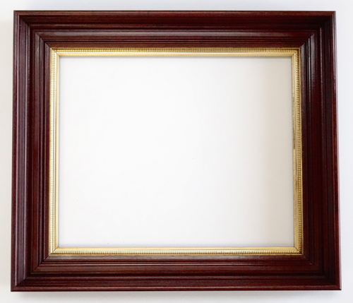 Antique Deep Picture Frame Beautiful Walnut With Gold Liner 18 x 22 ...
