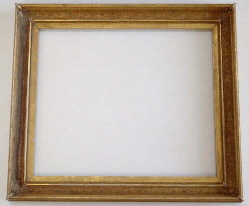 Antique Gold Victorian Picture Frame 25 x 30 — Vidi Vici Gallery