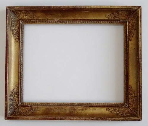 SOLD Antique French Empire Period Plaque Picture Frame 8 x 10 — Vidi ...