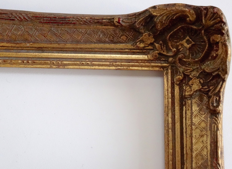 Vintage Louis XV Style Gold Picture Frame 14 x 17 — Vidi Vici Gallery