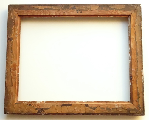 Vintage 17 x 22 Gold Picture Painting Frame — Vidi Vici Gallery