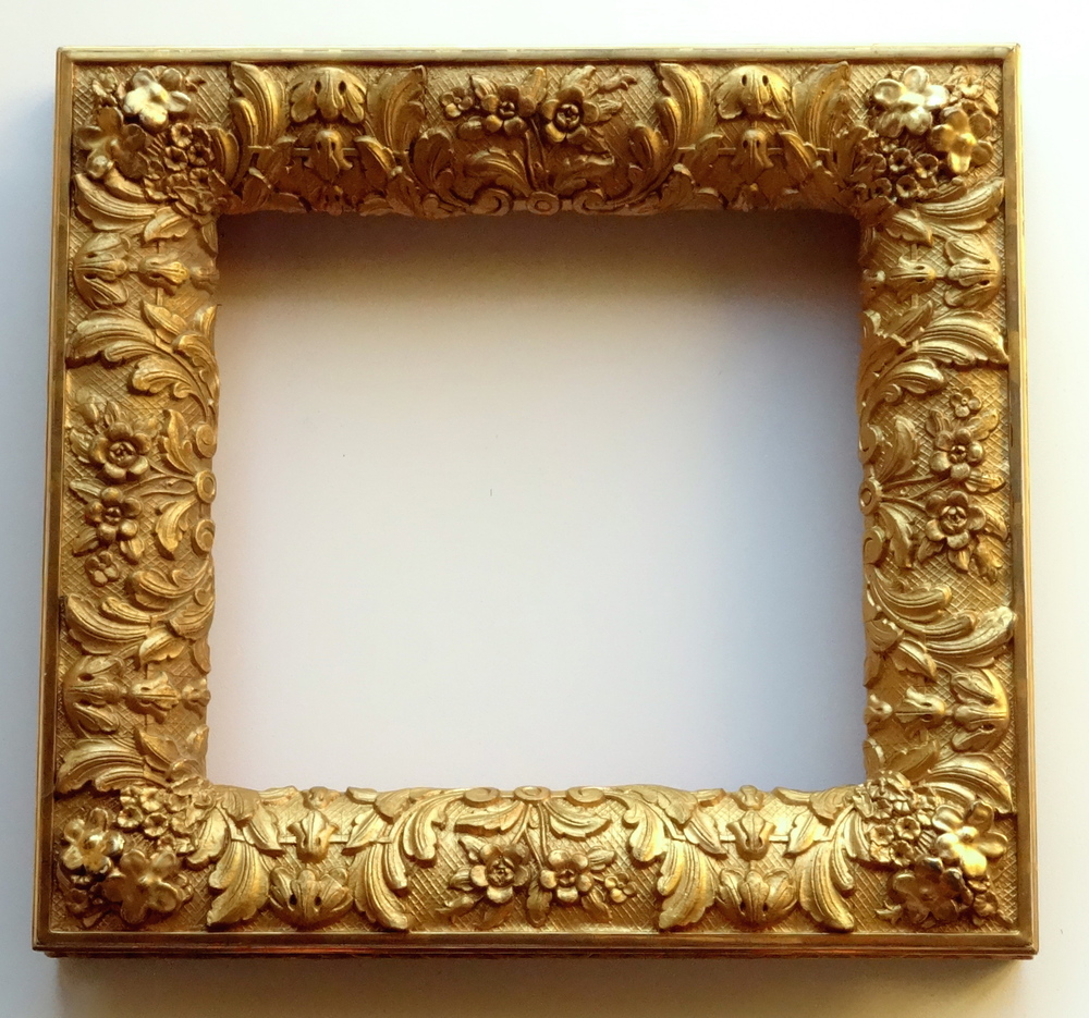 Sold antique victorian gilded picture frame deep heavy molding sold antique victorian gilded picture frame deep heavy molding gesso on wood vidi vici gallery jeuxipadfo Images