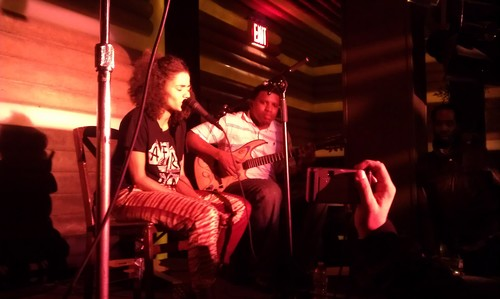 Live with Nneka in NYC