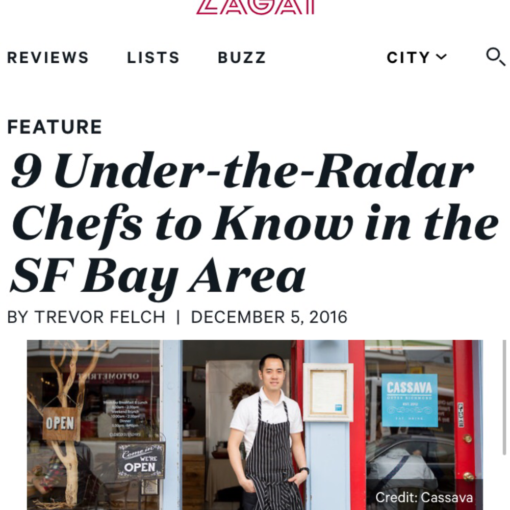 Zagat 9 Under the Radar Chefs to Know 12.2016