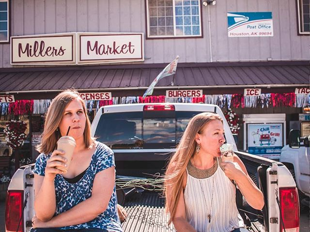 The traditional Miller's Market stop on our way to #sheepcreeklodge last Saturday 🍦🍧🍨 📸: @rodochg