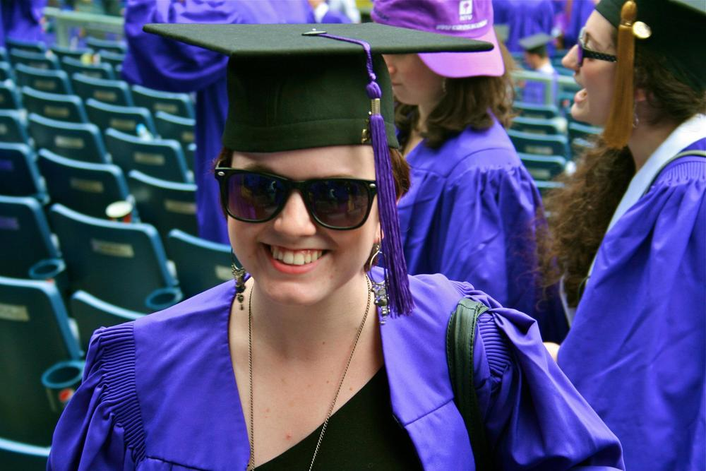 NYU graduation at Yankee Stadium, May 16, 2012.