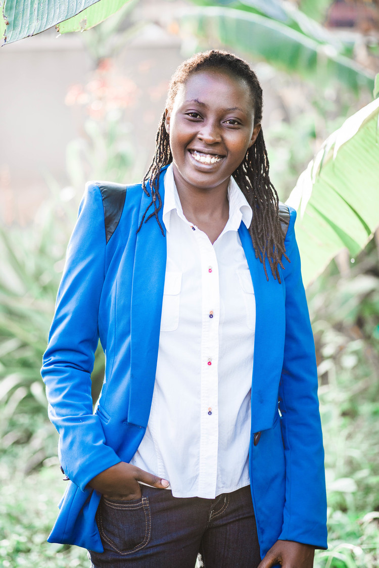 MEGA KABUGO  Director/Operations  Mega Nalutaaya Kabugo is KUZA's Director for operations and has worked in that capacity since 2010 when she graduated from Makerere University with a degree in social work. In 2016, Mega completed her Masters in Organizational Leadership and management. She is currently pursuing her PhD. A true visionary and passion leader, Mega is a sought-after speaker and teacher.