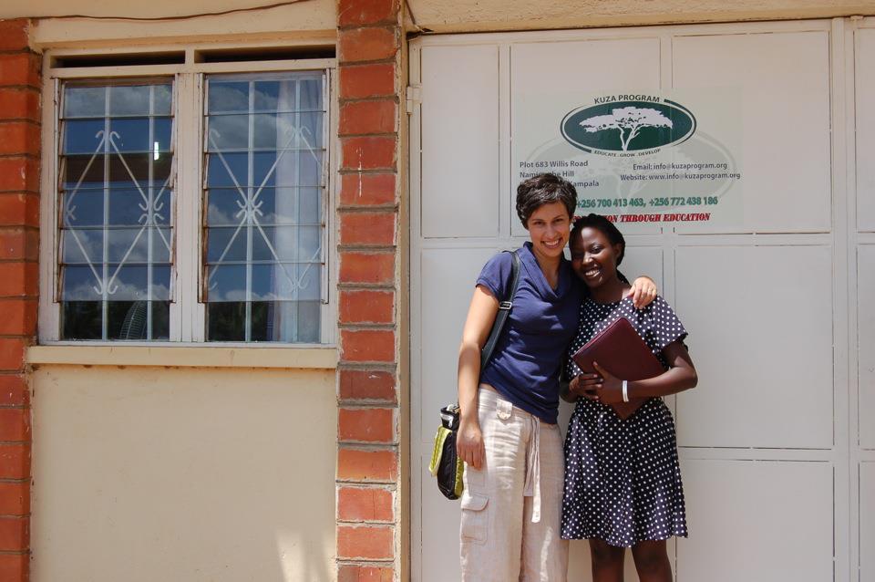 2011: Sara & Mega at one of the early KUZA offices