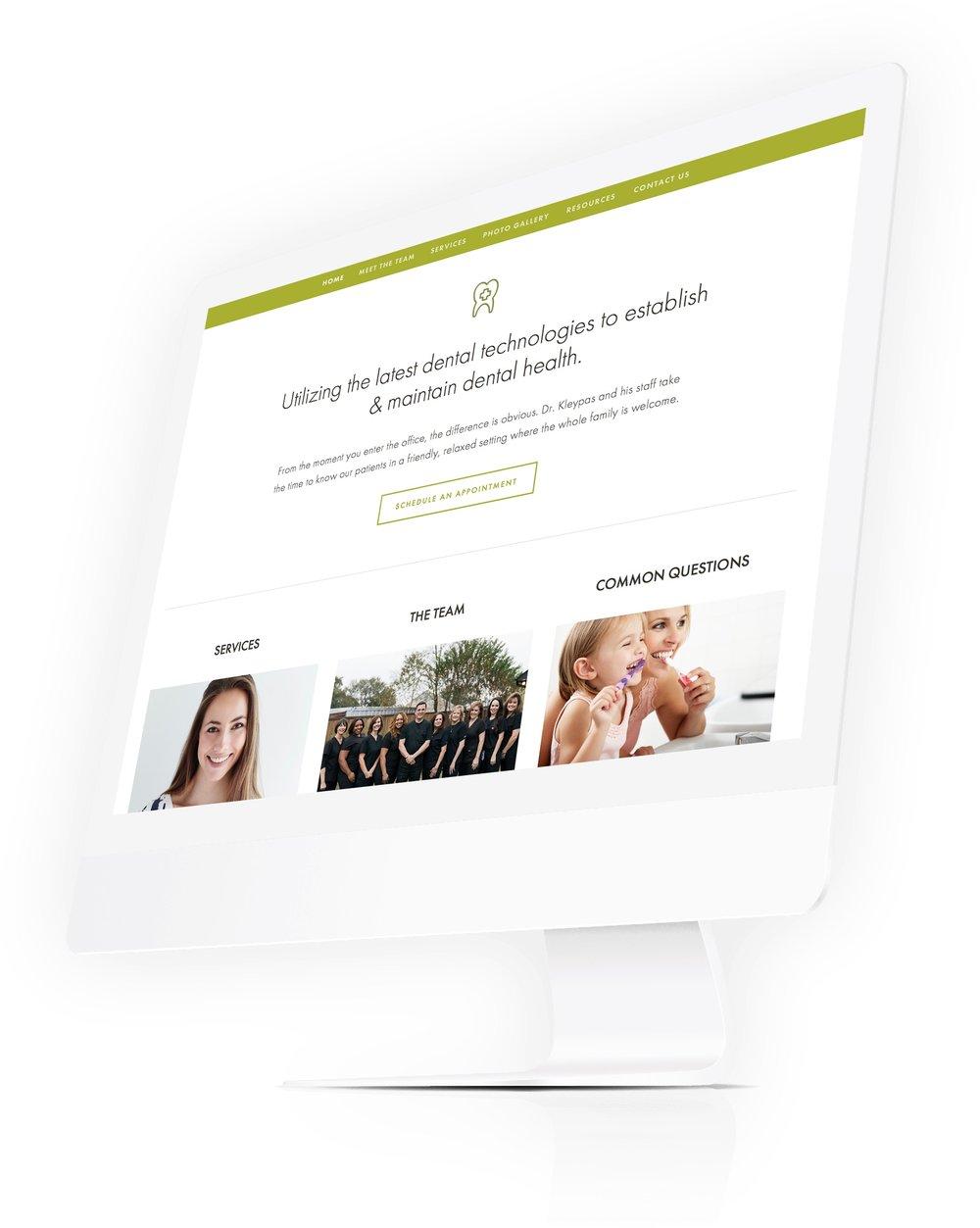 medical healthcare website design