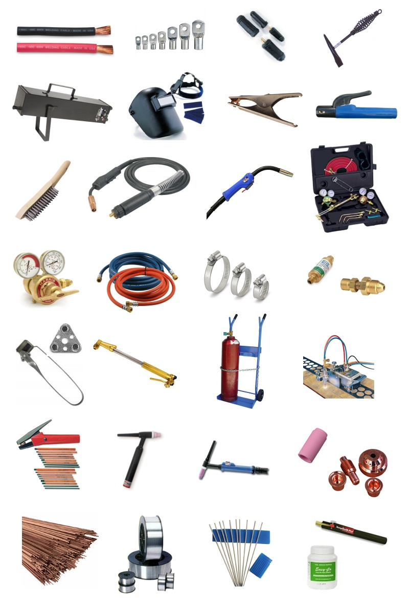 Full Line of Welding Supplies