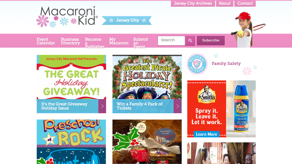 Jersey City Macaroni Kid  (Jersey City, Hudson County) **Featured Page  Online local resource for kids & families.