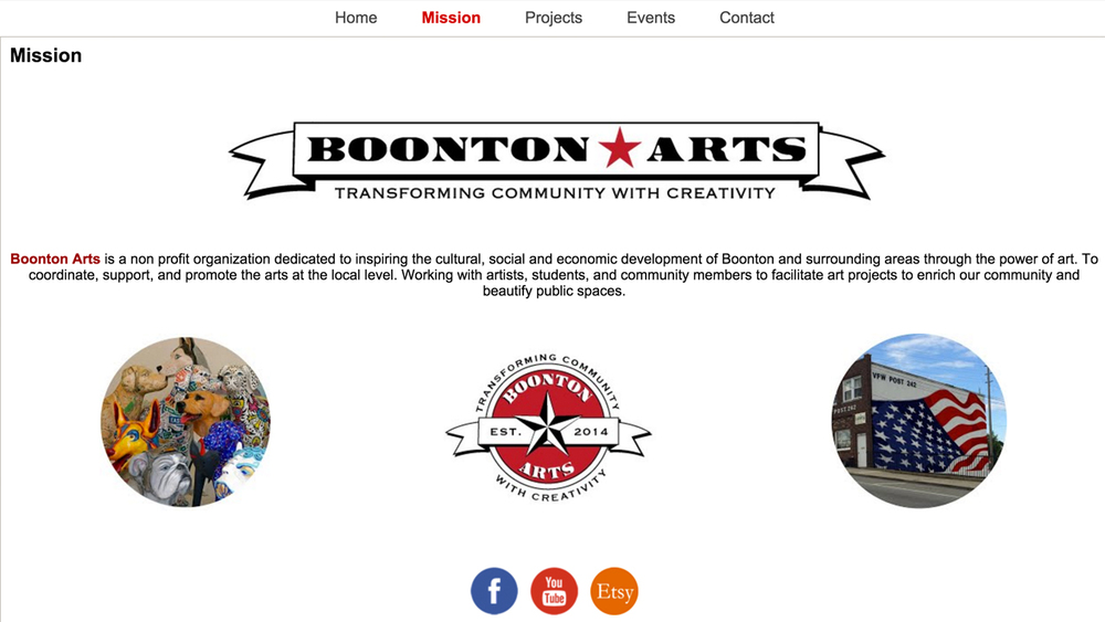 Boonton Arts  (Boonton | Morris County)  Programs: Dog Days of Summer | Mural Initiative