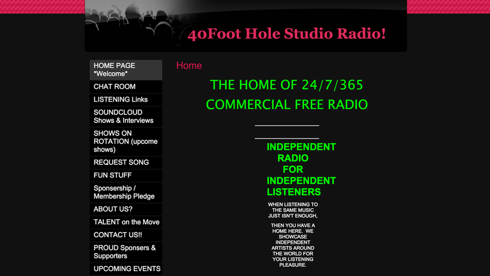40footholestudio  (radio station | Lanoka Harbor, Ocean County)