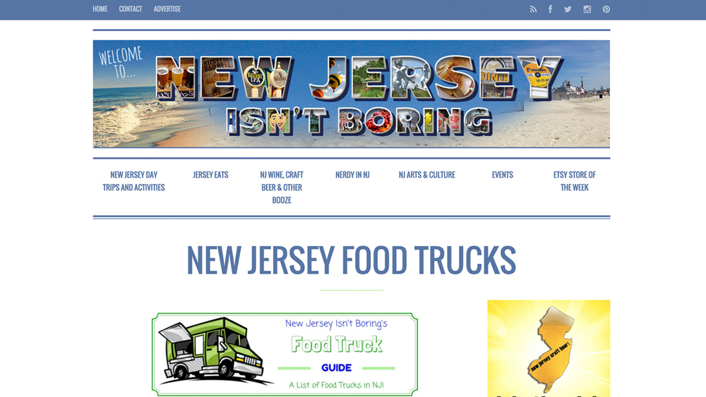 New Jersey Isn't Boring's guide to food trucks