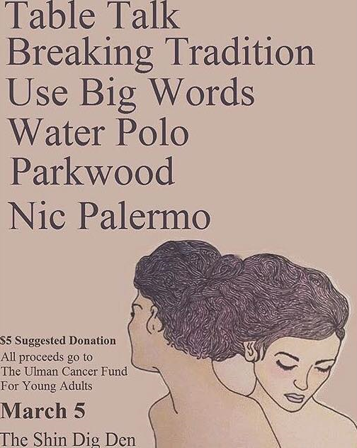 Flyer from Ulman Cancer Fund show