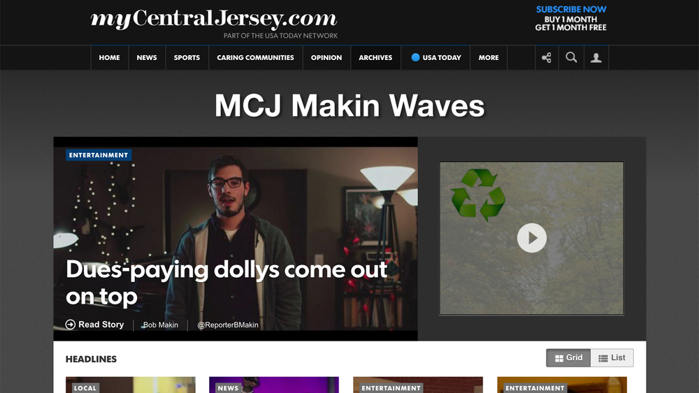 Makin Waves (Central Jersey) Music blog by Bob Makin