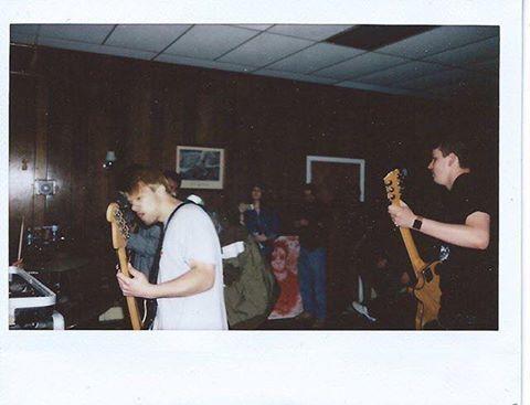 NJ hardcore band,  Vacate . Photo by Zoe Sabine.